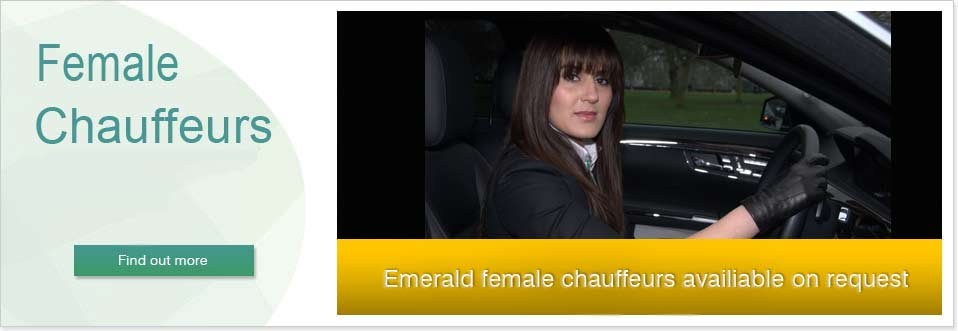 female drivers available on request